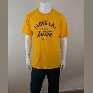 Los Angeles Lakers SGA T Shirt 2008 I Love LA